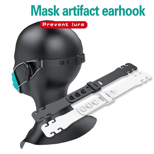 Adjustable Anti-Slip Face Mask Ear Grips  + Extension Hook