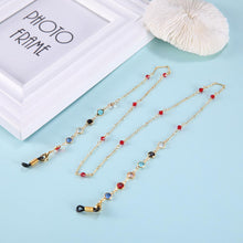Load image into Gallery viewer, Face Mask Lanyard Chain with Stones