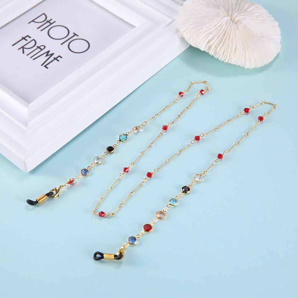 Face Mask Lanyard Chain with Stones