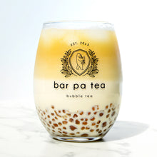 Load image into Gallery viewer, Bar Pa Tea Bubble Tea Glass (set of 2)