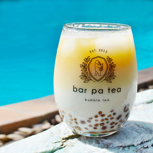 Bar Pa Tea Bubble Tea Glass (set of 2)