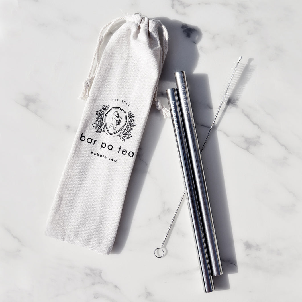 Bar Pa Tea Eco-Friendly Reusable Straws
