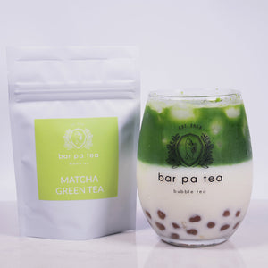 Pink Matcha Bubble Tea kit - Gift Set