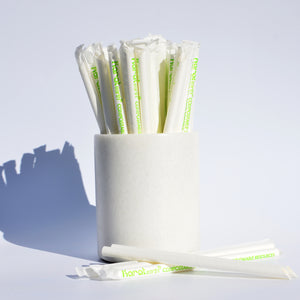 Karat Earth Bubble Tea Wrapped Paper Straws