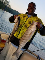 Lake Oconee, West Point, Lake Lanier, Georgia, Fishing tours, fishing charter, lake fishing, striper, crappie, bass