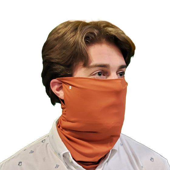 Burnt Orange Solid Gaiter