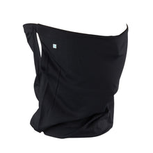 Black Solid Gaiter