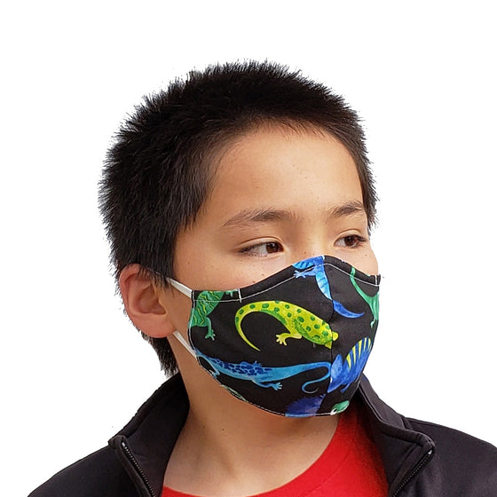 Leaping Lizards KidZ Face Mask