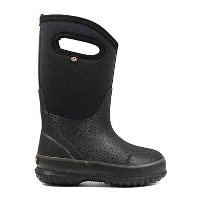 Classic Black Handles Kids' Winter Boots