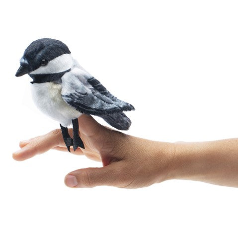 Mini Chickadee Finger-Puppet