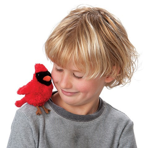 MIni Cardinal Finger-Puppet