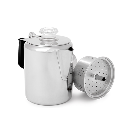 Glacier Stainless Coffee Percolator (3 cup)