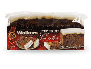 Walkers Iced Rich Fruit Slab Cake 450g