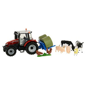 Massey Ferguson Tractor Play Set