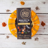 Indian Spice Tin with Sari Wrap