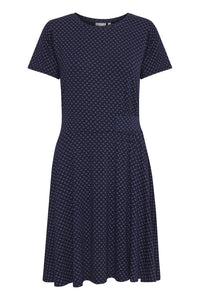 Fransa Fredotton Navy dress