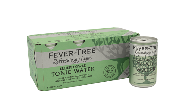 Fever-Tree - Refreshingly Light Elderflower (8 x 150ml)