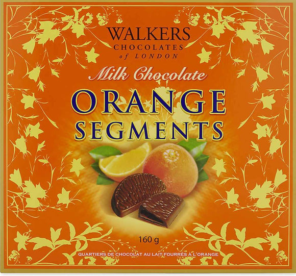Walkers Milk chocolate orange segments 160g
