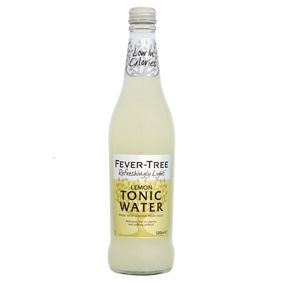 Fever-Tree - Refreshingly Light Lemon Tonic Water 500ml