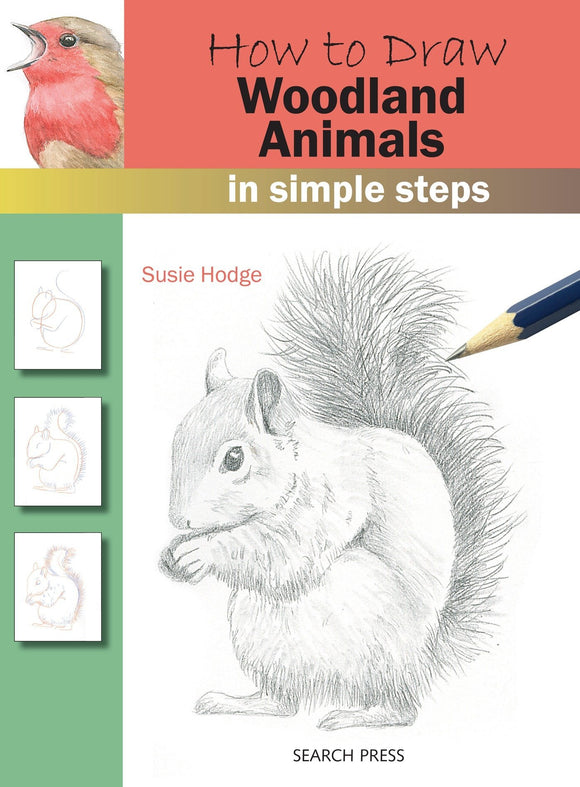 HOW TO DRAW WOODLAND ANIMALS