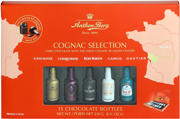Anthon Berg Liqueurs Cognac Selection 15 piece
