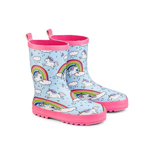 Childs Wellington Boots Unicorn (Select Size)