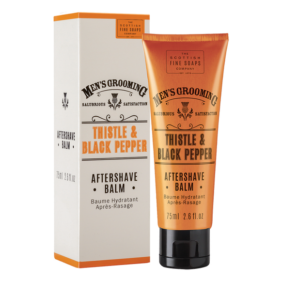 THISTLE & BLACK PEPPER AFTERSHAVE BALM 75ml