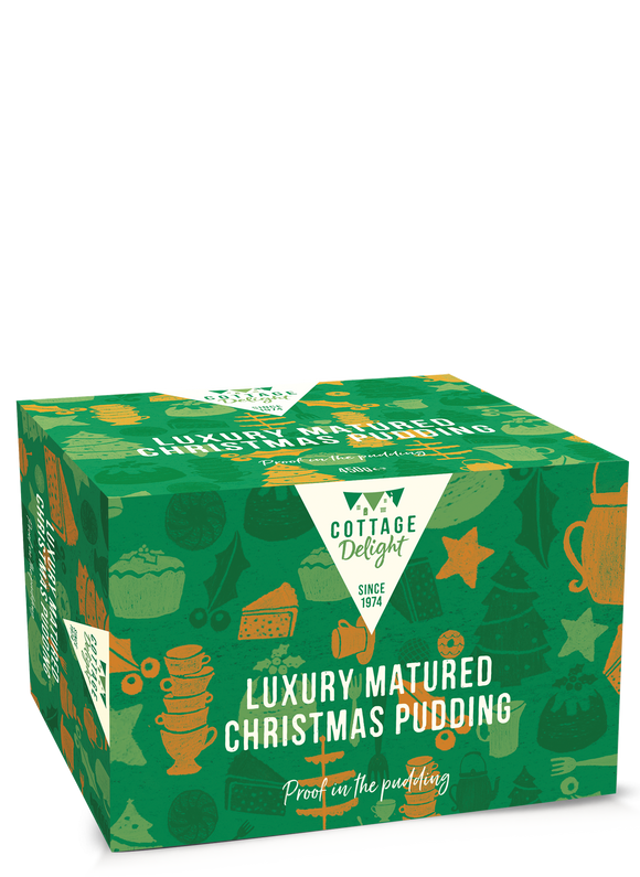 Luxury Matured Christmas Pudding 400g