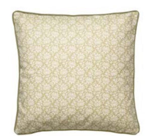 Viticella Cushion Spring Leaf