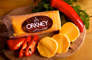 Island Smokery - Smoked Cheddar Sweet Chilli 150g (COLLECTION ONLY)