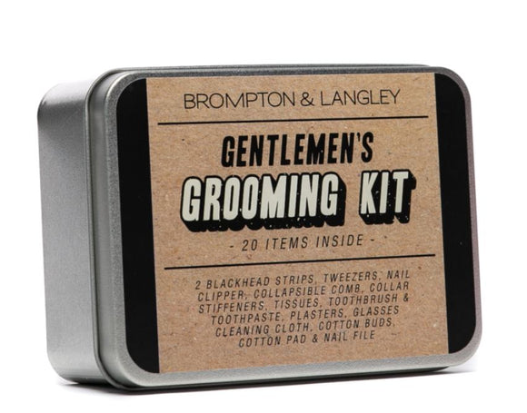 Brompton & Langley - Modern Man Gentleman's Grooming Kit