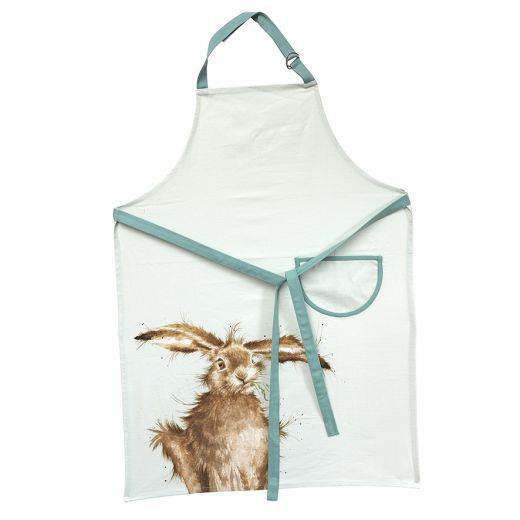 Wrendale 'Hare-Brained' Cotton Apron