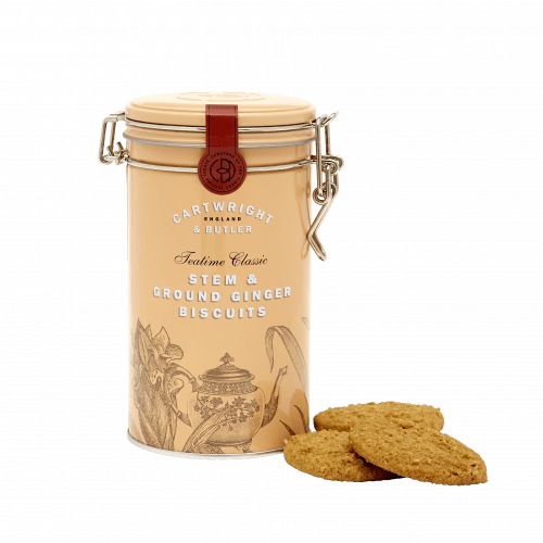 Cartwright & Butler Stem Ginger Biscuits Tin 200g