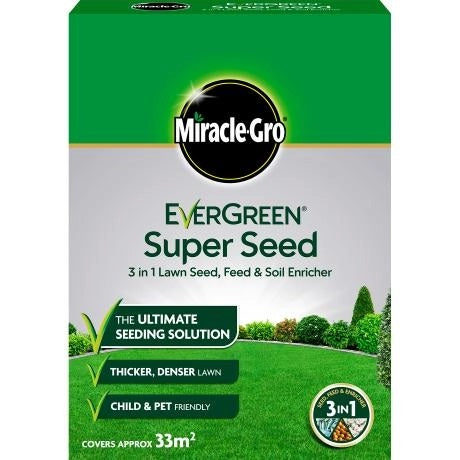 Miracle-Gro EverGreen Super Seed Lawn Seed (select size)