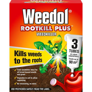 Weedol® Rootkill Plus™ (Liquid Concentrate Tubes) 3 Tubes