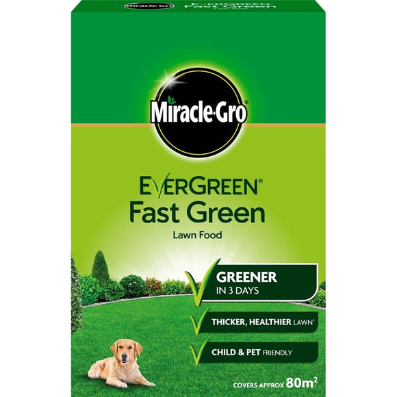 Miracle-Gro EverGreen Fast Green 80m2