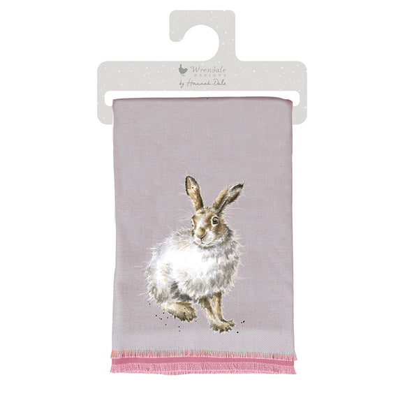 'Mountain Hare' Winter Scarf