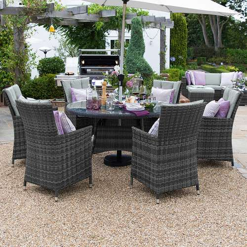 Sienna 6 Seat Dining Set