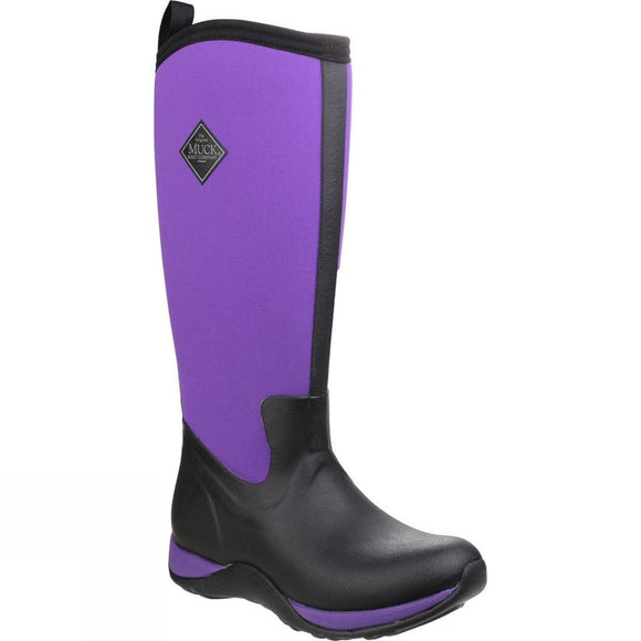 Muck Boots Ladies Arctic Adventure Tall Boots Purple