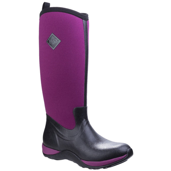 Muck Boots Ladies Arctic Adventure Tall Boots Maroon