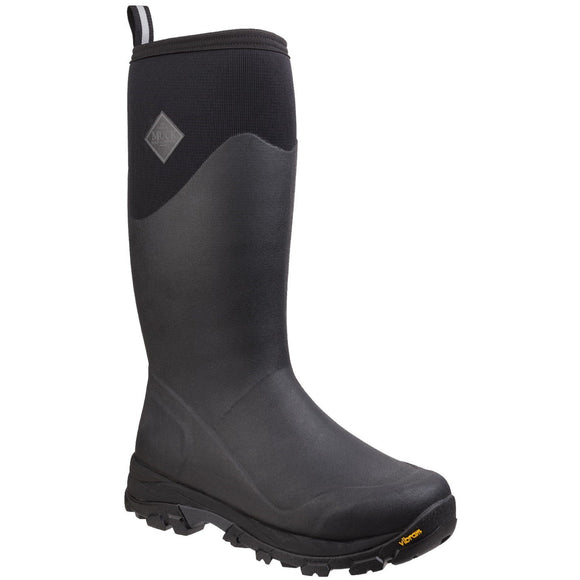 Muck Boots Mens Arctic Ice Vibram Tall Boot Black