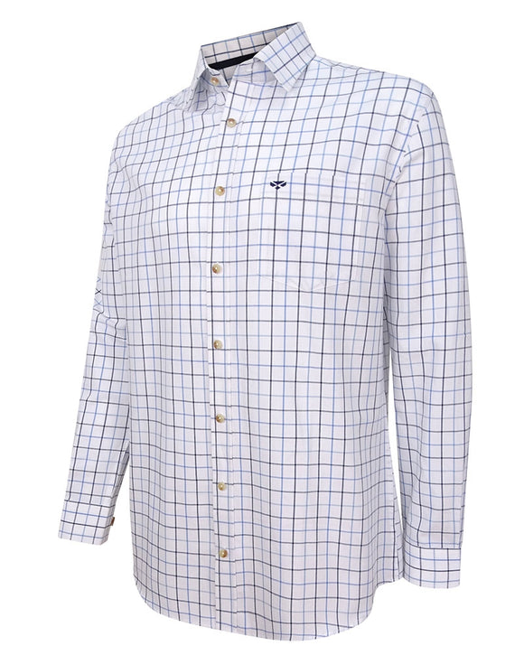 Hoggs of Fife Mens Viscount Premier Tattersall Shirt