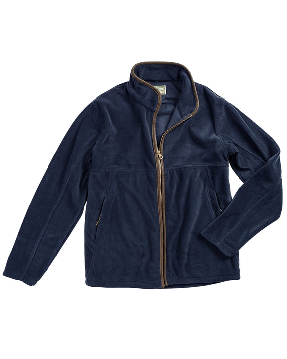 Hoggs of Fife Mens Stenton Technical Fleece Jacket Navy
