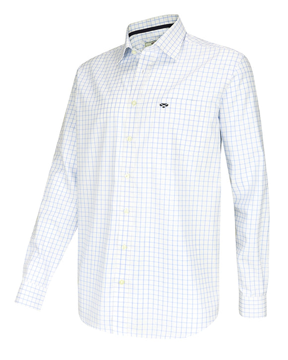 Hoggs of Fife Mens Turnberry Twill Cotton Shirt