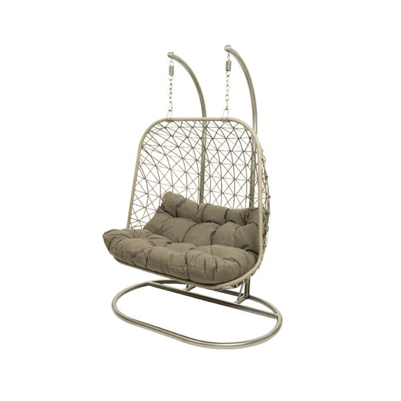 Bologna Wick Hang Swing Double Chair