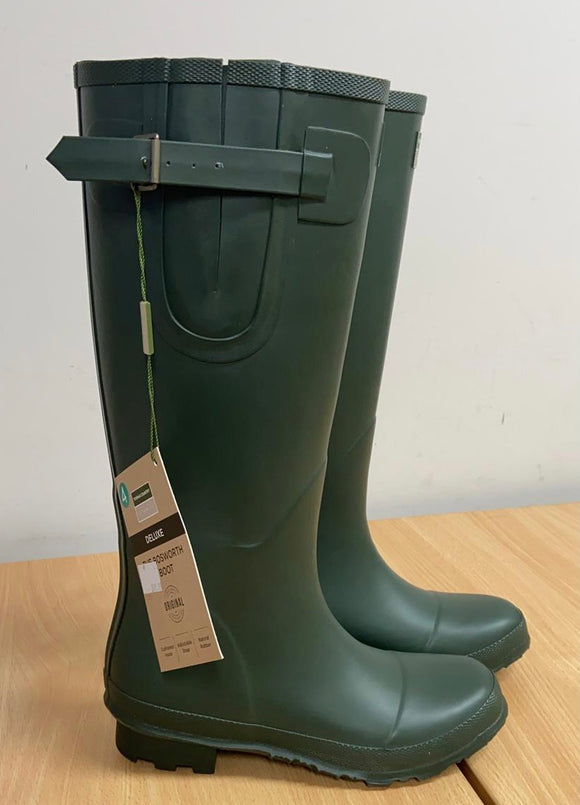 Town & Country Deluxe Bosworth Green Wellington Boots