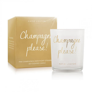 Katie Loxton CHAMPAGNE PLEASE Candle