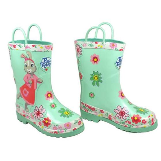 Peter Rabbit & Friends  - Lily Bobtail Wellington Boots (Select Size)