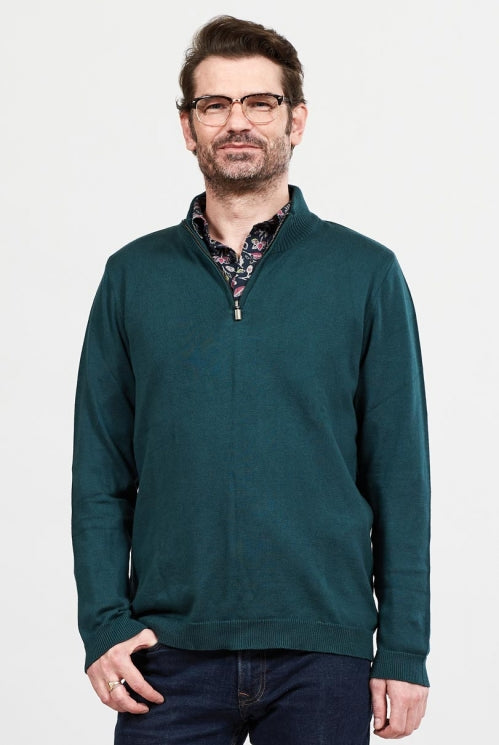 Men's Half Zip Jumper