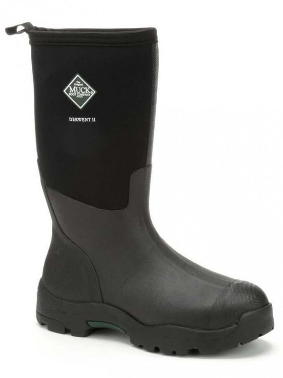 Muck Boots Unisex Derwent II Mid-Height Boot Black